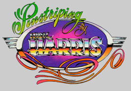 Pinstriping by Rick Harris